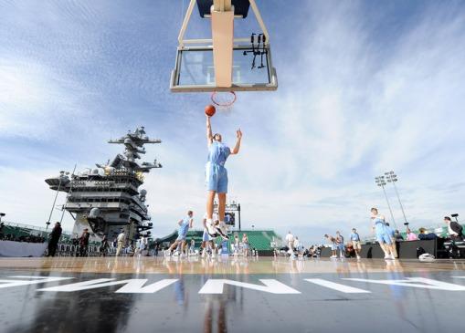 Basketball boat