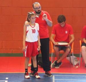 treinador jogadora