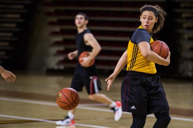 treino de basquetebol