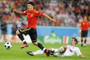 David Villa Espanha 08