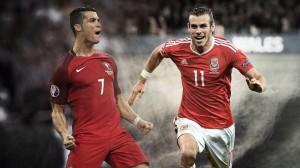 Cristiano Ronaldo e Gareth Bale