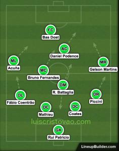 Sporting vs Monaco